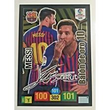 Messi Balón de Oro Firmado 2018-2019