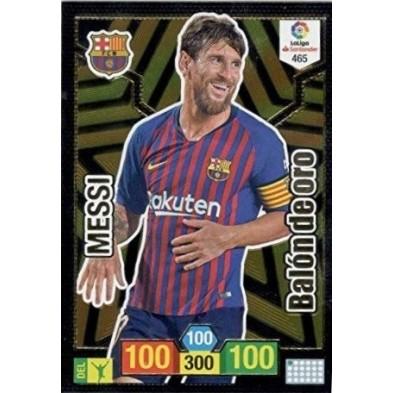 Messi Balón de Oro Adrenalyn XL 2018-2019