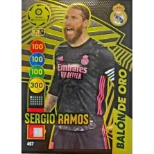 Sergio Ramos balón de oro Adrenalyn XL 2020-2021