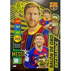 Messi Excellence Balón de Oro Adrenalyn XL 2020-2021