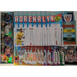 Lote 250 cards diferentes Adrenalyn XL 2020-2021